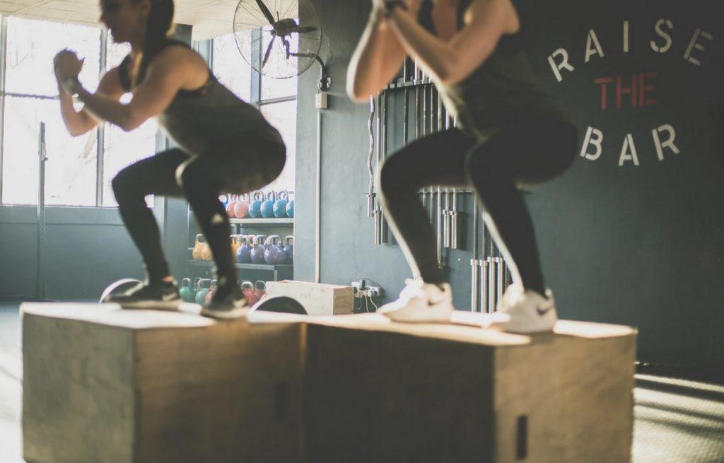 squat muscle fessier